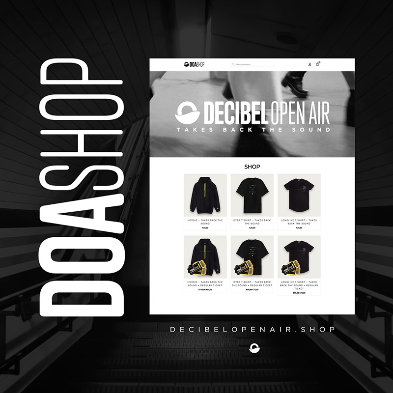 DOA Shop is OUT NOW!